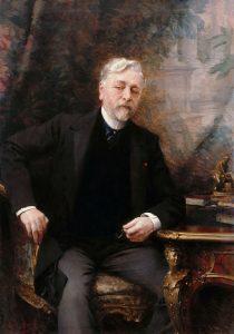 Portrait de Gustave Eiffel PARIS BY EMY thèmes