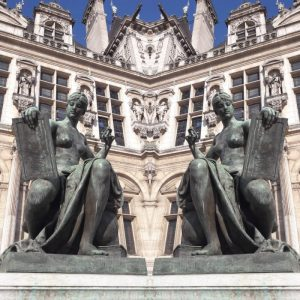 The City Hall of Paris, by PARIS BY EMY
