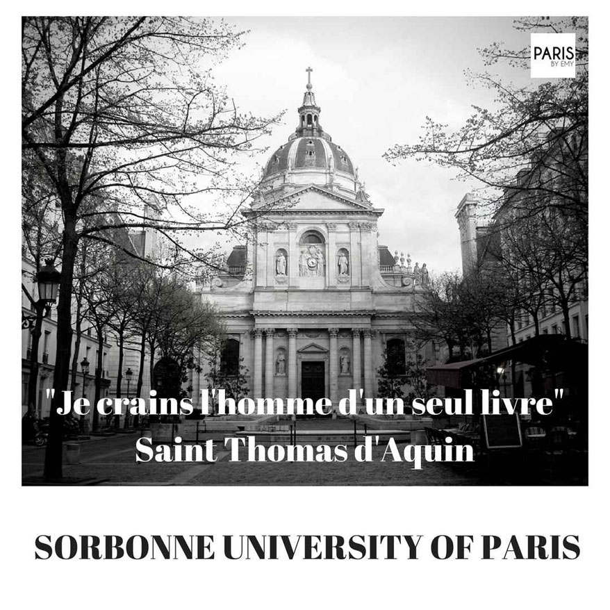 Sorbonne University PARIS BY EMY Student Tours Paris