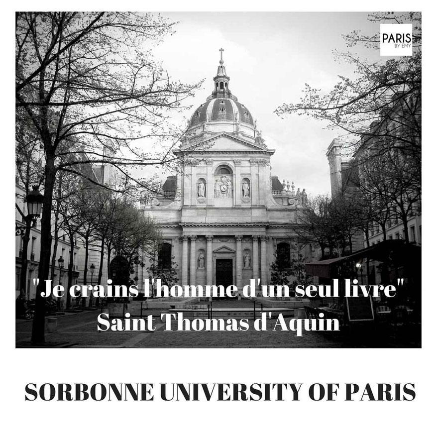 Sorbonne University PARIS BY EMY Student Tours Paris