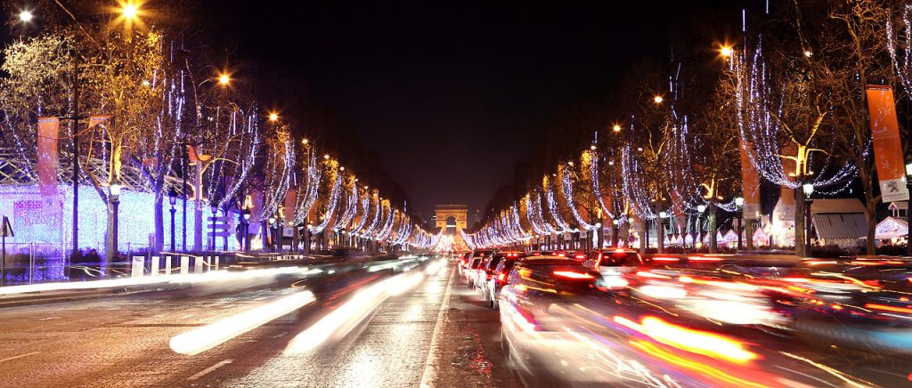 Illuminations Champs Elysées Christmas time in Paris by PARIS BY EMY