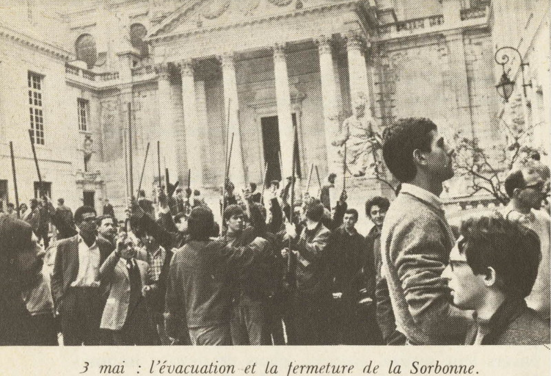 Sorbonne University in May 1968 PARIS BY EMY