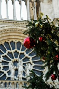 Notre Dame, Christmas Time in Paris by PARIS BY EMY