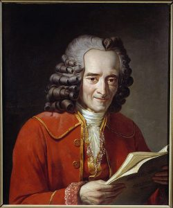 Voltaire reading visit St Germain with PARIS BY EMY