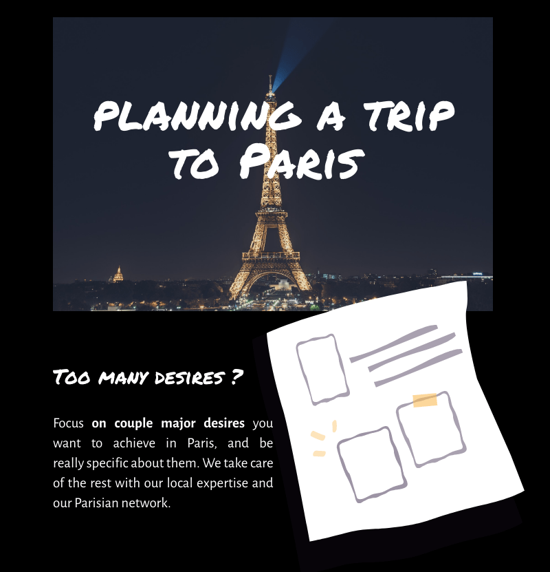 Planning a trip to Paris with PARIS BY EMY
