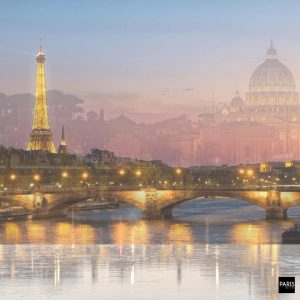 Paris and Rome are twin sisters city